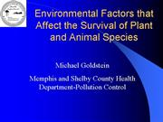6 16 03 Environmental Factors that Affect the Surv
