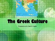 The Greek Culture
