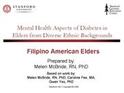 Filipino American Elders