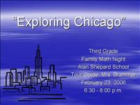 Exploring Chicago Family Math Night