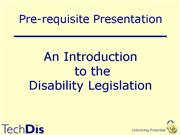 Intro to Legislation
