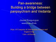 Pan Awareness Vedanta