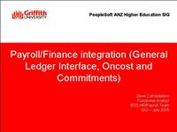 finance payroll integration