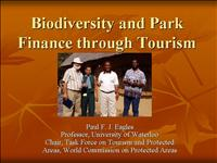 109 Paul Eagles Biodiversity and Park Finance thro