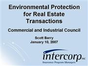 Environmental Protection for RE