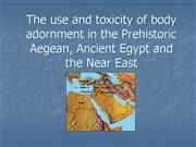 Ancient Cosmetic toxicology