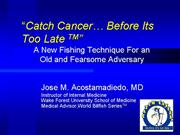 Catch cancer promtional grand rounds compress