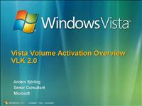 WindowsVista volume activation overview