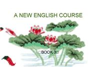 A NEW ENGLISH COURSE Book 3