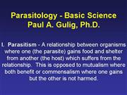 Parasitology Basic 07