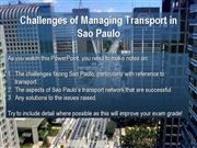 transport in sao paulo