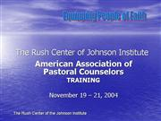 AAPC Training Faith Partners