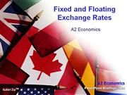 982 Fixed Floating Exchange Rates