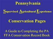 PA Conservation Powerpoint