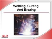 Welding Cutting Brazing