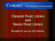 classical naxos music libraries