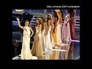 Miss Universe 2007, Firstimpression