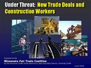 UNDER THREAT CONSTRUCTION WORKERS AND GATS FINAL