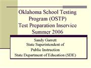 Summer EOI Test Prep
