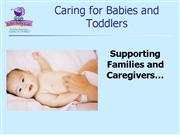 Better Baby Care Caring For Infants and Toddlers