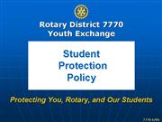 MYRTLE BEACH 519402 v1 Rotary District 7770 Youth