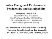 Session8 PRESN Asian Energy and Environment Produc