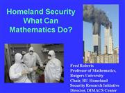 HomelandSecurityCong ressionalTalk9 15 04
