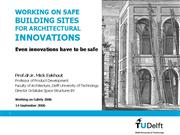 session 30 eekhout nieuw working on safe buildings