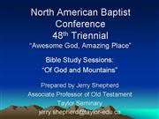JID44 Of God and Mountains PowerPoint