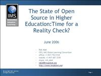 IMS State of Open Source 0606