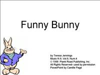 Funny Bunny Camille Page