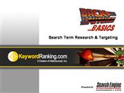 Andy Beal Search Term Basics Keyword Research