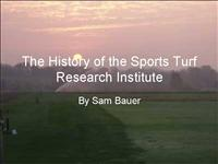 The Sports Turf Research Institute