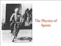 physics of sports 2006 11 10