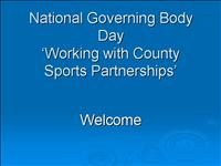 national governing body day thurs