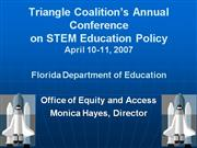 Triangle Coalition Annual Conference