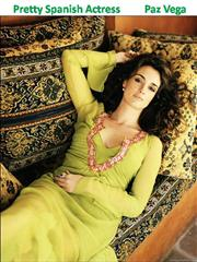 Pretty Spanish Actress Paz Vega