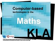 Computer based technologies in maths