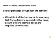 chap 2 learning language through task and activiti