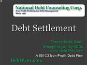 Debt Settlement Settle Debt Now