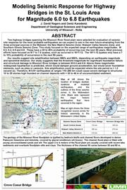 Jefferson City 2006 Poster Seismic Threat Posed by