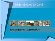 turbine gas engine