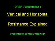 Introduction to Horizontal Resistance Breeding