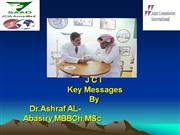 JCI Key messages(د/ أشرف الاباصيري)