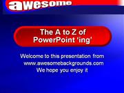 Cool PowerPoint Animations - The A to Z of PPT