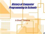 History & Timeline of Educational Programming