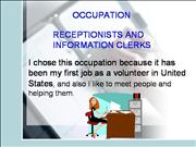 EL Civics #32, Visual Aid, Receptionist