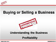 Confidential Business Sale - Buying or Selling
