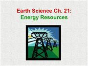 D39618 Powerpoint Ch 21 Earth Science