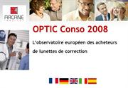 Prsentation Optic Conso 2008